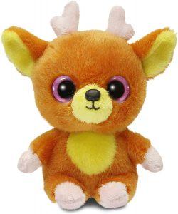 Peluche de reno de YooHoo de 13 cm - Los mejores peluches de renos - Peluches de animales