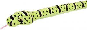 Peluche de serpiente de cascabel de 137 cm de Wild Republic - Los mejores peluches de serpientes - Peluches de animales