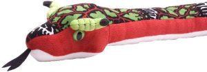 Peluche de serpiente dragón de 137 cm de Wild Republic - Los mejores peluches de serpientes - Peluches de animales