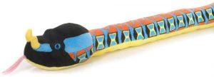 Peluche de serpiente víbora Rhino de 137 cm de Wild Republic - Los mejores peluches de serpientes - Peluches de animales