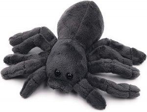 Peluche de tarántula de Onwomania de 20 cm - Los mejores peluches de arañas - Peluches de animales