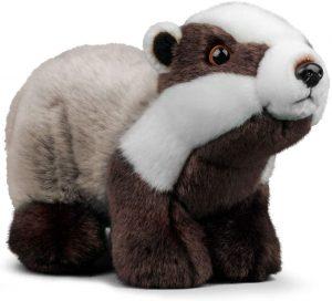 Peluche de tejón de Animigos de 26 cm - Los mejores peluches de tejones - Peluches de animales