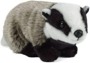 Peluche de tejón de Living Nature de 27 cm - Los mejores peluches de tejones - Peluches de animales