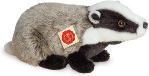 Peluche de tejón de Teddy Hermann de 30 cm - Los mejores peluches de tejones - Peluches de animales