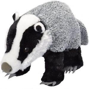 Peluche de tejón de Wild Republic de 30 cm - Los mejores peluches de tejones - Peluches de animales