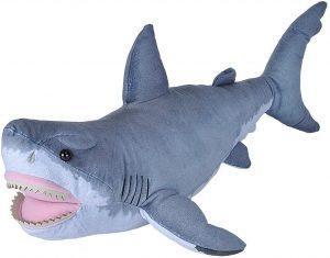 Peluche de tiburón blanco de Wild Republic de 60 cm - Los mejores peluches de tiburones - Peluches de animales