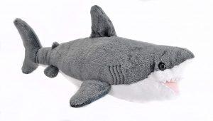 Peluche de tiburón de Wild Republic de 20 cm 2 - Los mejores peluches de tiburones - Peluches de animales