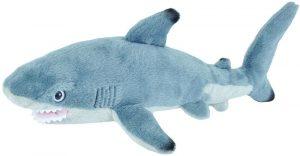 Peluche de tiburón de Wild Republic de 20 cm - Los mejores peluches de tiburones - Peluches de animales