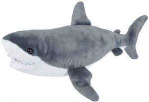 Peluche de tiburón de Wild Republic de 30 cm - Los mejores peluches de tiburones - Peluches de animales