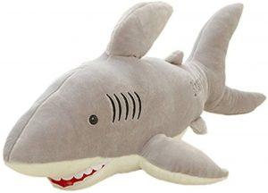 Peluche de tiburón de YunNasi de 120 cm - Los mejores peluches de tiburones - Peluches de animales