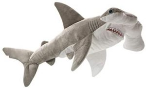 Peluche de tiburón martillo de Carl Dick de 48 cm - Los mejores peluches de tiburones - Peluches de animales