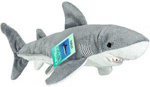 Peluche de tiburón martillo de Hermann Teddy de 38 cm - Los mejores peluches de tiburones - Peluches de animales