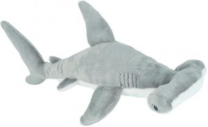 Peluche de tiburón martillo de Wild Republic de 20 cm - Los mejores peluches de tiburones - Peluches de animales