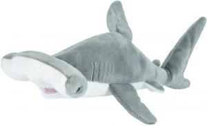Peluche de tiburón martillo de Wild Republic de 30 cm - Los mejores peluches de tiburones - Peluches de animales
