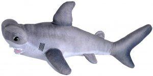 Peluche de tiburón martillo de Wild Republic de 40 cm - Los mejores peluches de tiburones - Peluches de animales