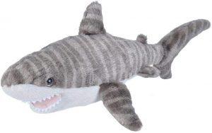 Peluche de tiburón tigre de Wild Republic de 20 cm 2 - Los mejores peluches de tiburones - Peluches de animales