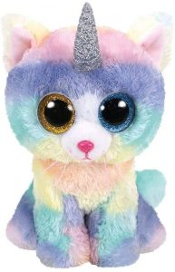 Peluche de unicornio azul de Ty de 15 cm - Los mejores peluches de unicornios - Peluches de animales