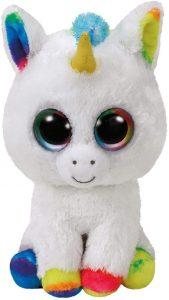 Peluche de unicornio blanco de Ty de 23 cm - Los mejores peluches de unicornios - Peluches de animales