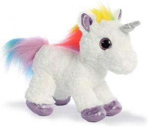 Peluche de unicornio de Aurora de 31 cm - Los mejores peluches de unicornios - Peluches de animales