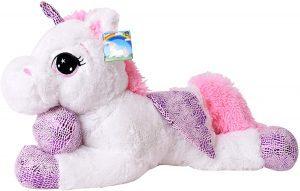 Peluche de unicornio de TE-Trend de 60 cm - Los mejores peluches de unicornios - Peluches de animales