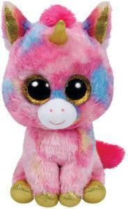 Peluche de unicornio rosa de Ty de 15 cm - Los mejores peluches de unicornios - Peluches de animales