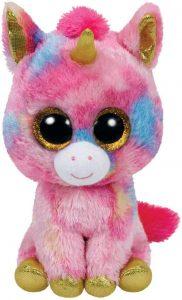 Peluche de unicornio rosa de Ty de 23 cm - Los mejores peluches de unicornios - Peluches de animales