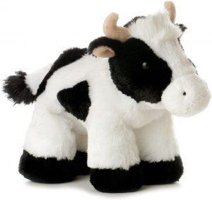 Peluche de vaca de Aurora de 20 cm - Los mejores peluches de vacas - Peluches de animales