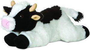 Peluche de vaca de Aurora de 25 cm - Los mejores peluches de vacas - Peluches de animales