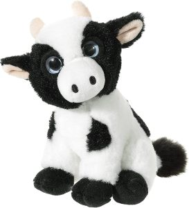 Peluche de vaca de Heunec de 15 cm - Los mejores peluches de vacas - Peluches de animales