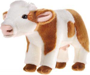 Peluche de vaca de Heunec de 27 cm - Los mejores peluches de vacas - Peluches de animales