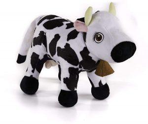 Peluche de vaca de La Granja de Zenón de 30 cm - Los mejores peluches de vacas - Peluches de animales