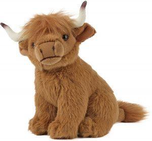 Peluche de vaca de Living Nature de 17 cm - Los mejores peluches de vacas - Peluches de animales
