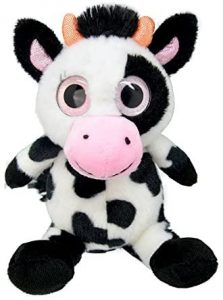 Peluche de vaca de Wild Planet de 25 cm - Los mejores peluches de vacas - Peluches de animales