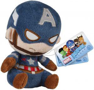 Peluche del Capitán América de 12 cm de Mopeez Funko - Los mejores peluches del Capitán América - Peluches de superhéroes de Marvel