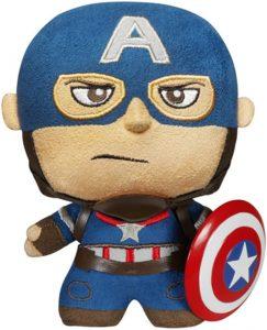 Peluche del Capitán América de 15 cm de FUNKO Fabrikations - Los mejores peluches del Capitán América - Peluches de superhéroes de Marvel