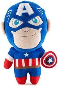 Peluche del Capitán América de 20 cm - Los mejores peluches del Capitán América - Peluches de superhéroes de Marvel