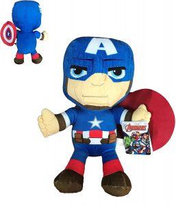 Peluche del Capitán América de 30 cm - Los mejores peluches del Capitán América - Peluches de superhéroes de Marvel
