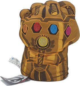 Peluche del guantelete del infinito de Thanos de 27 cm - Los mejores peluches de Thanos - Peluches de superhéroes de Marvel