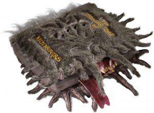 Peluche del monstruoso libro de los monstruos de 36 cm de Harry Potter - Los mejores peluches de libro de monstruos - Peluches de Harry Potter