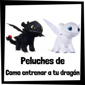 Peluches baratos de Como entrenar a tu dragón - Los mejores peluches de dragones - Peluche de dragón barato de felpa