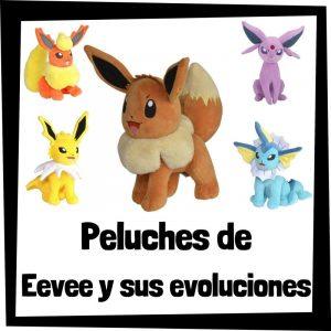 Lee más sobre el artículo Los mejores peluches de Eevee y sus evoluciones