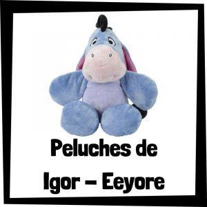 Peluches baratos de Igor de Eeyore de Winnie de Pooh - Los mejores peluches de burros - Peluche de burro barato de felpa