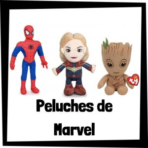 Peluches baratos de Marvel - Los mejores peluches de Marvel - Peluche de superhéroes de Marvel barato de felpa