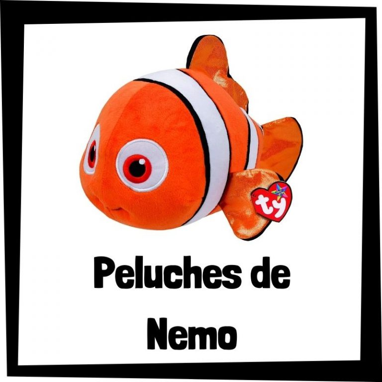 Los mejores peluches de Nemo de Buscando a Nemo