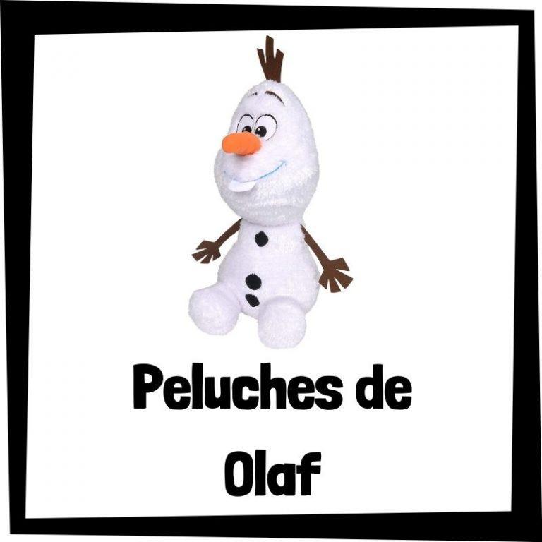 Los mejores peluches de Olaf de Frozen