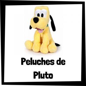 Peluches baratos de Pluto - Los mejores peluches de Pluto de Mickey Mouse - Peluche de Disney barato de felpa