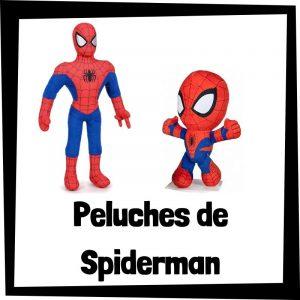 Peluches baratos de Spiderman - Los mejores peluches de arañas