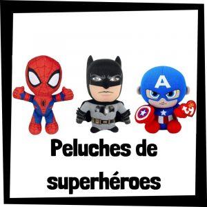 Peluches baratos de Superhéroes - Los mejores peluches de Superhéroes - Peluche de superhéroes de DC y Marvel barato de felpa