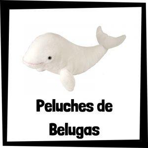 Peluches baratos de belugas - Los mejores peluches de ballenas - Peluche de ballena barato de felpa