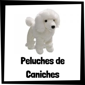 Peluches baratos de caniches - Los mejores peluches de perros - Peluche de caniche barato de felpa
